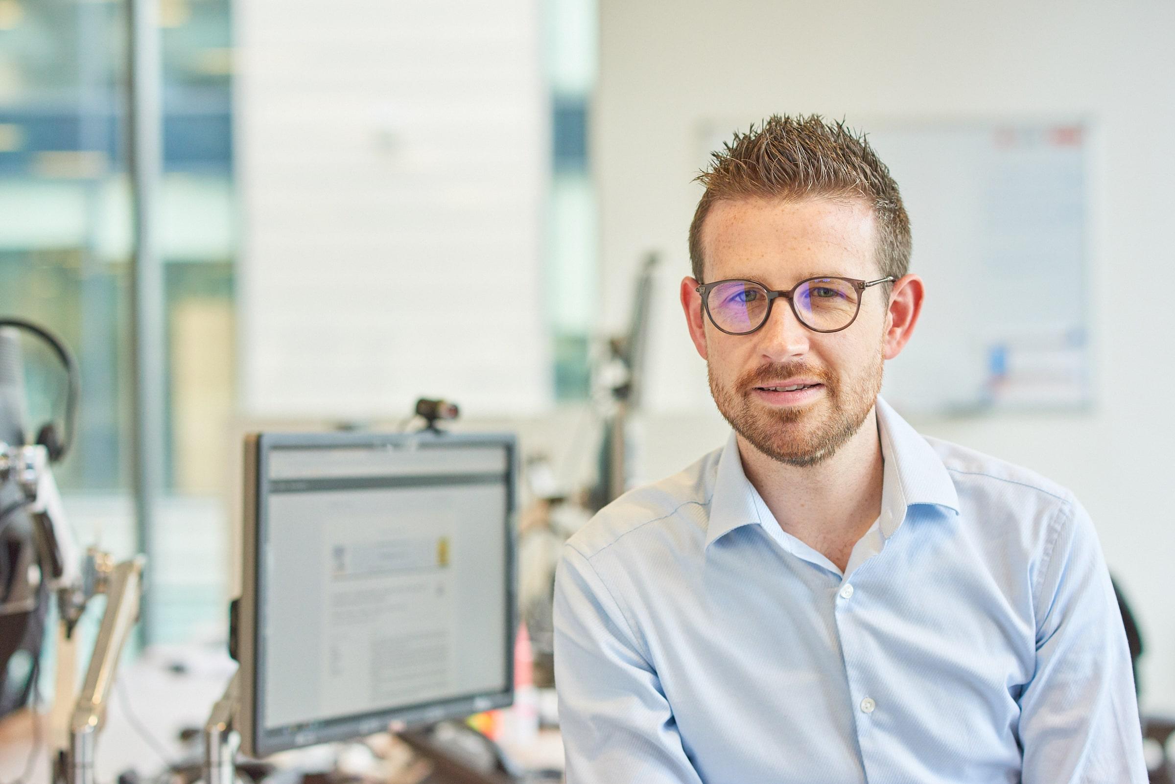 Dr Grant O'Connell ansvarig för skademinimerande forskning på Imperial Brands.